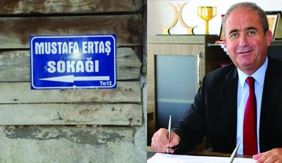 Mustafa Ertaş'ın İsmi Ermenek'te Bir Sokağa Verildi