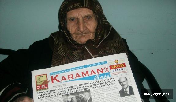 Orta Anadolu'nun İlk Sarı Basın Kartı Sahibi Cemile Yavuzaslan'ı Kaybettik