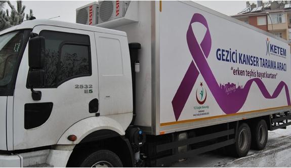 Ücretsiz Kanser Taraması Yapılacak