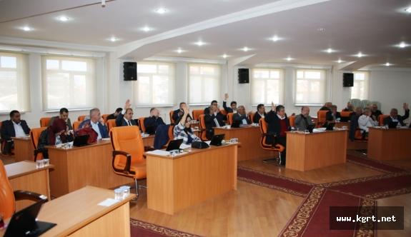 Belediye Meclisinde Komisyon Ve Encümen Üyelikleri Seçimi Yapıldı