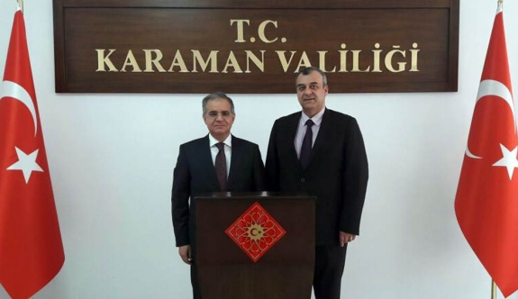Dr. Mehmet Hakan Sağlam'dan Vali Tapsız'a Nezaket Ziyareti