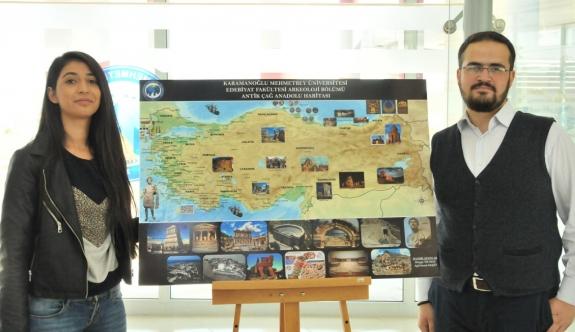 KMÜ Arkeoloji Bölümü Öğrencilerinden Poster Sergisi