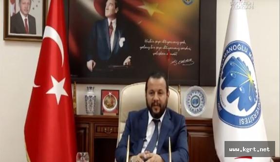 Rektör Akgül, TGRT EU Kanalına Konuk Oldu