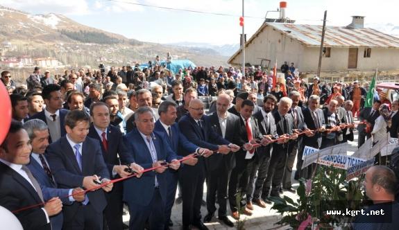 Sarıveliler'de 100 Kişiye İstihdam Sağlayacak İşyeri Açıldı