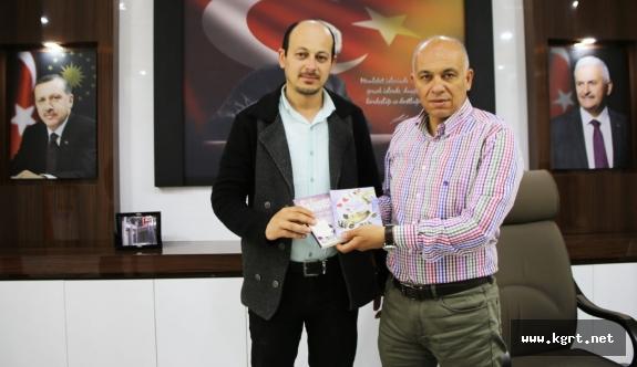 Yazar Mehmet Kırış'dan Başkan Çalışkan'ı Ziyaret