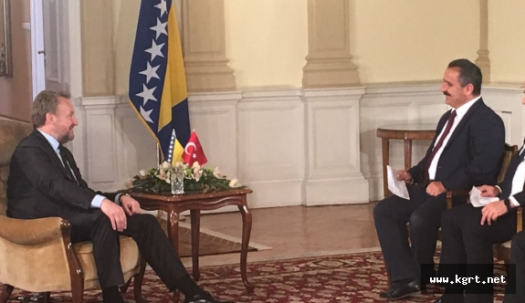 Anadolu Soruyor'un Konuğu Olan Bosna Hersek Başkanlık Konseyi Başkanı Bakir İzetbegoviç Oldu