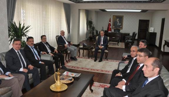 Bilim, Sanayi Ve Teknoloji İl Müdürlerinden Vali Tapsız'a Ziyaret