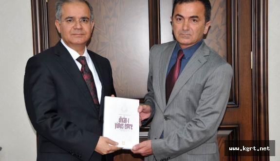 Eğitimci - Yazar Yıldırım'dan Vali Tapsız'a Ziyaret