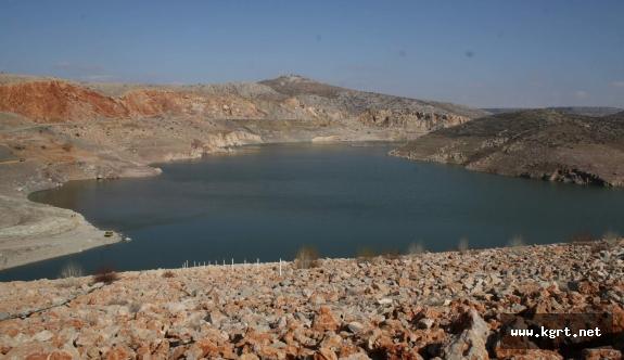 Gödet Barajından Kanallara Su Verilecek