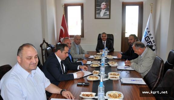İŞGEM İcra Kurulu Vali Tapsız Başkanlığında Toplandı