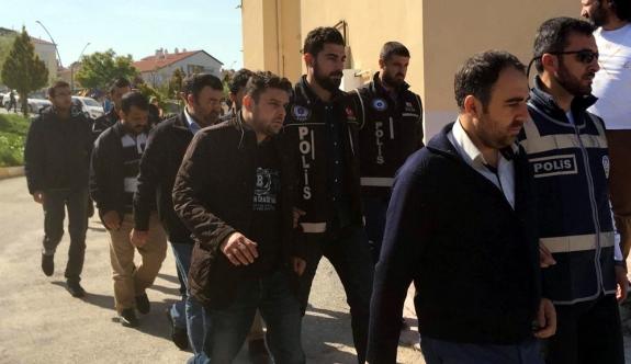 Karaman'da FETÖ'nün Emniyet İmamı 9 Kişi Adliyeye Sevk Edildi