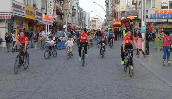 Karaman'da Pedallar Sağlık İçin Dönecek