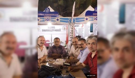 Karaman'ın İstanbul'da Tanıtımı İçin Stant Açtılar