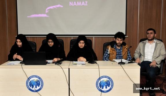 KMÜ'de Öğrenci Panelleri Düzenlendi