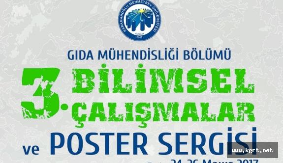 KMÜ Gıda Mühendisliği Öğrencileri Poster Sergisi Düzenleyecek