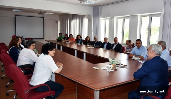 Milli Eğitim Müdürlüğü Avrupalı Misafirlerini Ağırladı