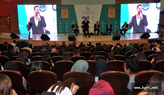 Türk Dil Bayramı Etkinlikleri Kapsamında Türk Halk Müziği Konseri Verildi