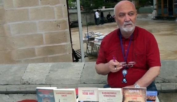 Yazar Şerafettin Güç'ten Kitap Sergisi