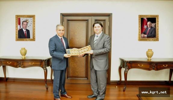 Yunus Emre Enstitüsü Heyetinden Vali Tapsız'a Ziyaret