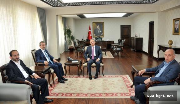 İmam Hatip Okulları Platformundan Vali Tapsız'a Ziyaret