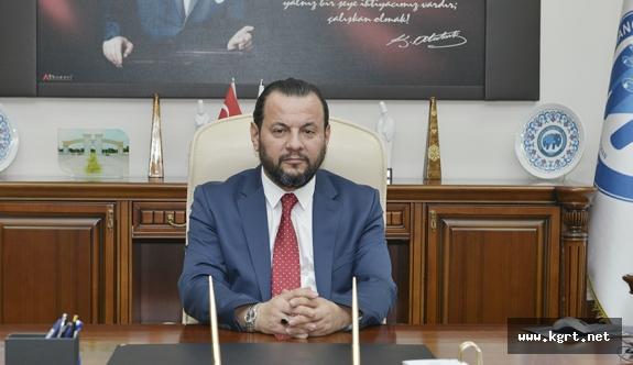 KMÜ Rektörü Akgül'den Şehit Dündar İçin Taziye Mesajı
