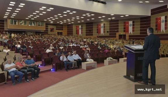 KMÜ'de Öğretmenlere Yönelik Türkçe Semineri Verildi