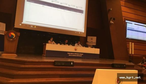 KTB Dijital Dönüşüm Projesi Eğitimine Katıldı
