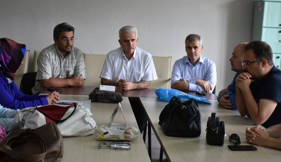 Kuntoğlu'nun Okul Ziyaretleri Devam Ediyor