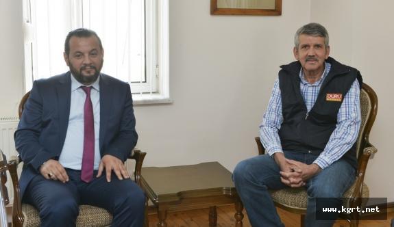 Rektör Akgül'den İhsan Duru'ya İade-i Ziyaret