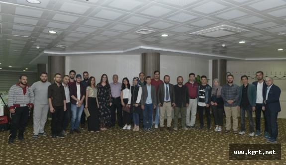 Rektör Akgül Yabancı Uyruklu Öğrencilerle İftarda Buluştu