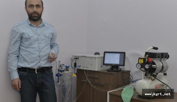 Türkiye'nin İlk Yerli Solunum Cihazında KMÜ İmzası
