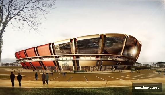 15 Bin Kişilik Stadyum İçin Yer Teslimi Yapıldı