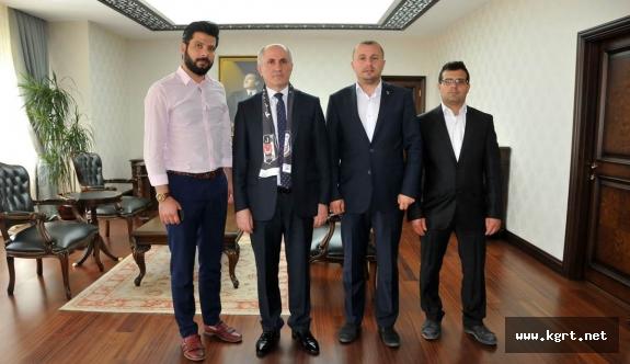 Beşiktaşlılardan Vali Meral'a Ziyaret