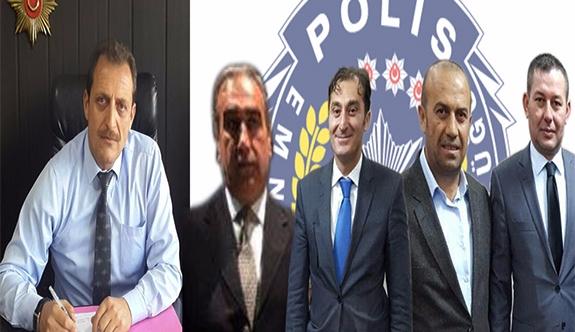 Karaman'da 4 Emniyet Personeli Terfi Ettirildi