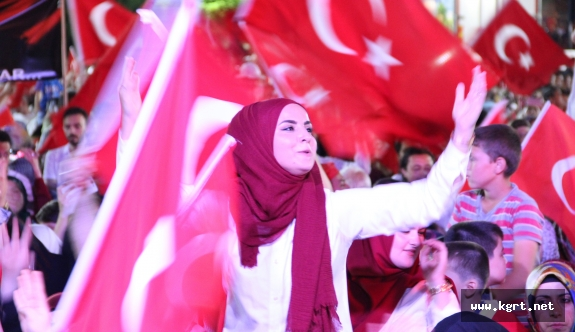 """Karaman'da """"15 Temmuz Demokrasi ve Milli Birlik Günü"""""""