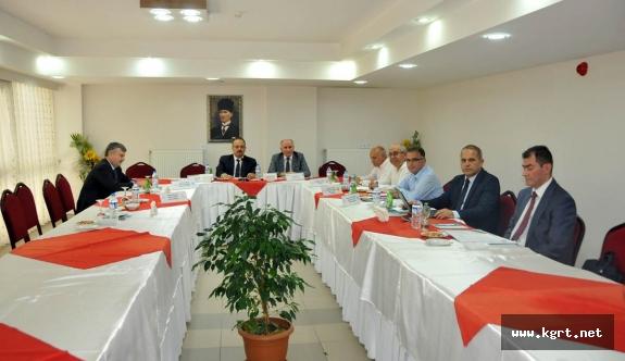 Mevlana Kalkınma Ajansı Yönetim Kurulu Toplandı