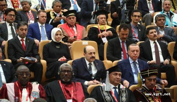 Prof. Dr. Mehmet Akgül, İslam Ülkeleri Rektörler Forumuna Katıldı