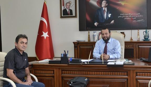 Araştırmacı Yazar Yusuf Yıldırım'dan Rektör Akgül'e Ziyaret