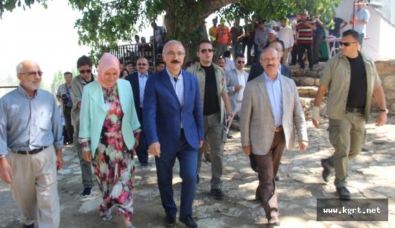 """Bakan Elvan: """"Güçlü Türkiye Yolunda Milletimize Kimse Engel Olamayacak"""""""