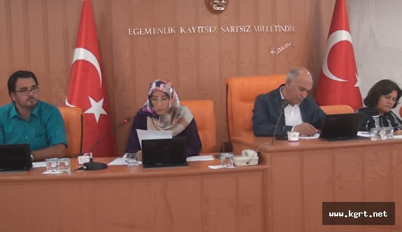 Belediye Meclisi Ağustos Toplantıları Başladı
