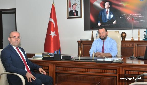 Divapan Genel Müdüründen Rektör Akgül'e Ziyaret