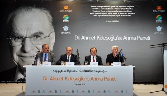 Dr. Ahmet Keleşoğlu Anma Paneli Yapıldı