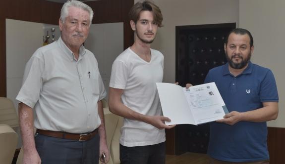 KMÜ'DE 15 Bininci Öğrenci Karamanlı Abdullah Eken Oldu