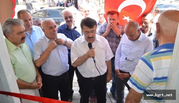 Valide Sultan Mahallesi Muhtarlık Ofisi Açıldı
