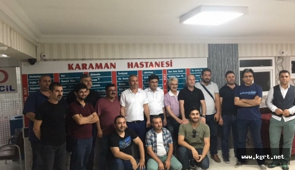 Özel Karaman Hastanesi'nden Basına Tanışma Yemeği