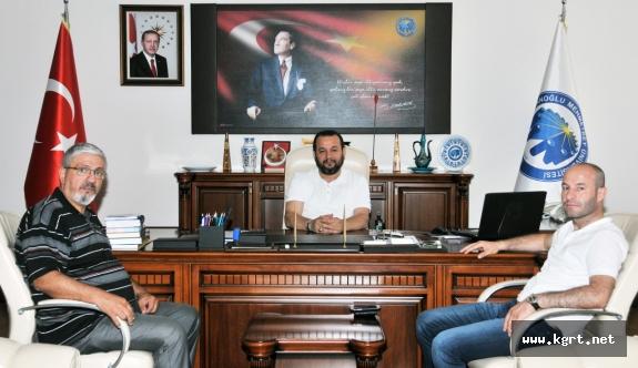 Özel Karaman Hastanesinden Rektör Akgül'e Ziyaret