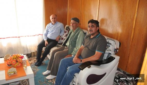 Vali Fahri Meral Şehit Ailelerine Ziyarette Bulundu