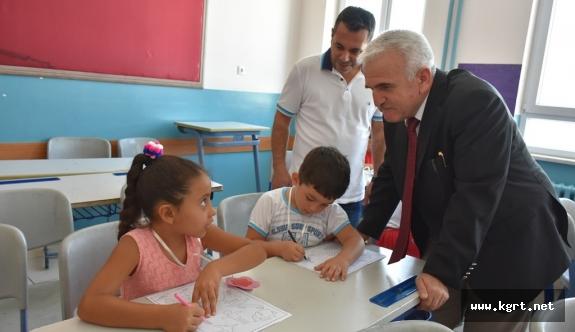 İl Milli Eğitim Müdürü Mevlüt Kuntoğlu Okul Ziyaretlerinde Bulundu