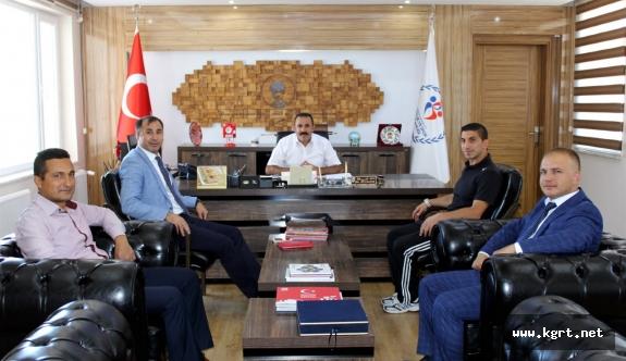 Judo Federasyonu Başkanı Huysuz'dan Kısacık'a Ziyaret