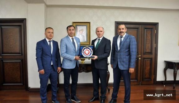 Türkiye Judo Federasyonu Başkanından Vali Meral'e Ziyaret